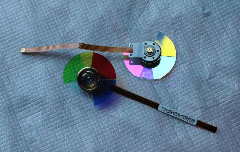 New For VIVITEK D925TX D927TW D930TX DLP Projector Color Wheel <br>