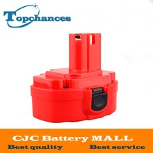 Red 12V PA12 2000mAh Ni-CD Rechargeable Battery for Makita Replacement Power Tool Battery for Makita 1220 1222 1233S 1233SB