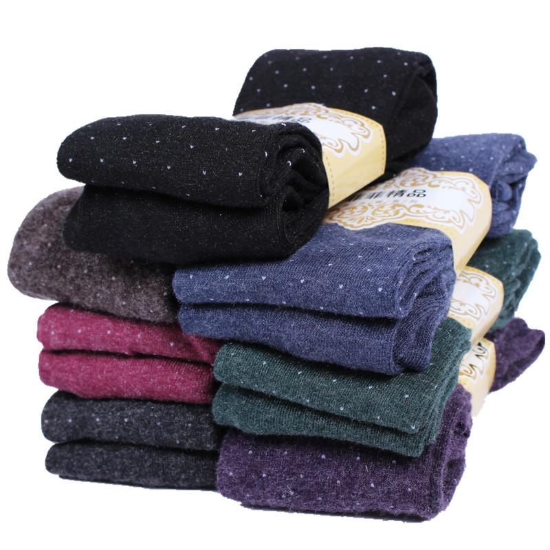 Women's Cotton Wool Leggings, Thicker Knitted, Sparkling Dot Design Autumn Legging 3