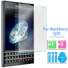 For Rim BlackBerry Passport Tempered Glass Screen Protector 2.5 9h Safety Protective Film on Blackbarry SQW100-3 SQW100-1 4G Lte