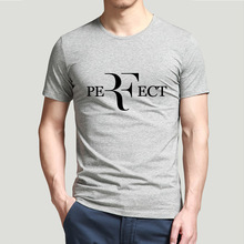 Roger Federer RF Tennis T Shirts men design printed short sleeve t shirt US plus size S-3XL factory outlet wholesale(China)