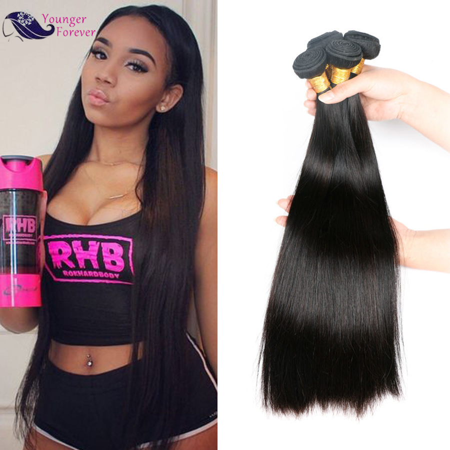 7A  Malaysian Virgin Hair Straight 3 bundles 300g Malaysian Hair Unprocessed Malaysian Straight Hair Cheap Human Hair bundles  <br><br>Aliexpress