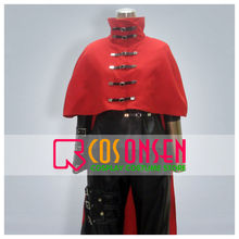 COSPLAYONSEN Final Fantasy VII 7 FF7 Vincent Valentine Cosplay Costume Full Set All Size