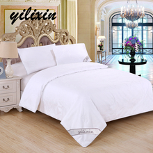 YILIXIN 100 % Silk Quilt Moscow Supply Plaid Baby Cotton Cover Luxury King Queen Twin Size winter/summer/spring/autumn Bedding