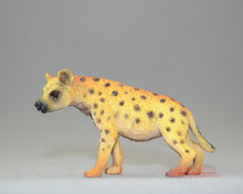 Animas ! solid animal model toy hyena mole crickets decoration 5-7CM(China)