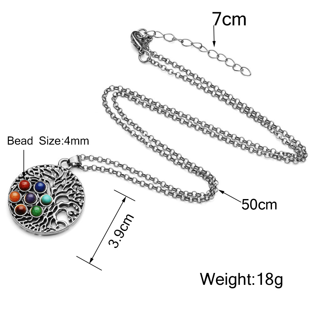 LGBT Stone Necklace   Rainbow Necklaces