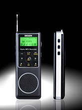DEGEN DE1127 FM MW SW AM Portable pocket Mini Digital Recorder DSP Stereo Radio 4GB MP3 Player STATION RECEIVER retail box(China)
