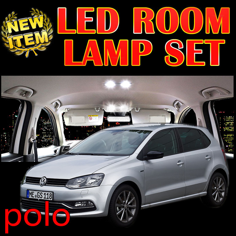 Cheetah 6 X Error Free Car LED Vehicle Interior Map Dome inDoor roof Lights Kit Package for vw polo accessories 2003-2015<br><br>Aliexpress