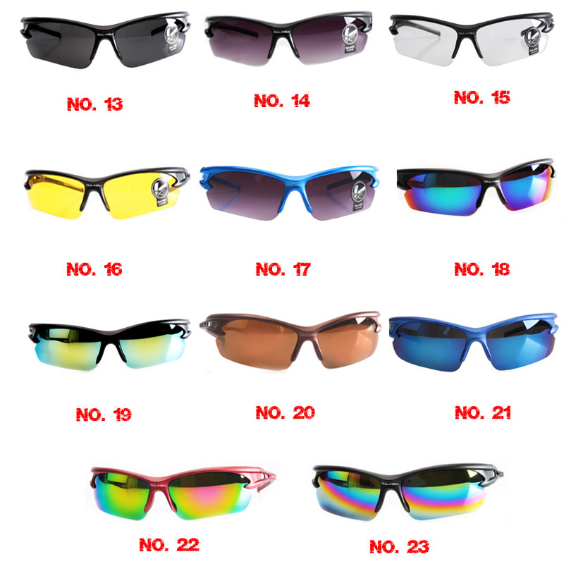 UV400 Cycling Sunglasses Eyewear Safety Men Women Goggle Sunglasses Bike Bicycle Outdoor Sport Windproof Eye Movement Glasses