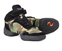 Discount Women Men Camouflage Sports Shoes Practice Dance Shoes Jazz Shoes Camouflage Dance Sneakers(China)