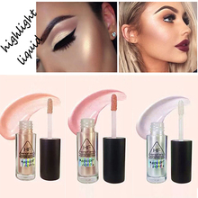 Brand Makeup Face Brightener Highlighter Liquid Shimmer Stick Glitter Liquid Highlighter Contour Stick Cosmetics(China)