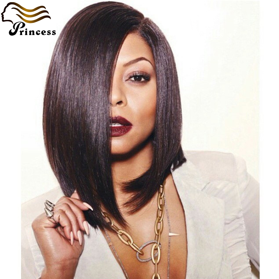 Virgin 7A Brazilian Bob Wigs Straight Unprocessed Human Hair Glueless Full Lace Wigs With Baby Hair Lace Front Wig<br><br>Aliexpress