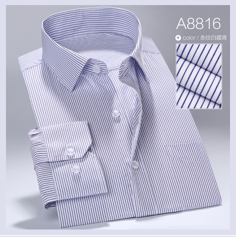 Men Business Single Breasted Turn-down Collar Cotton Shirts Dress Camisa,Candy Color Broadcloth Soft Breathable Shirts Chemise