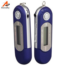 A Ausuky Portable 8GB Flash Drive USB Backlit LCD Screen Mini Slim WMA MP3 Digital Music Media Player with FM Radio New -25(China)