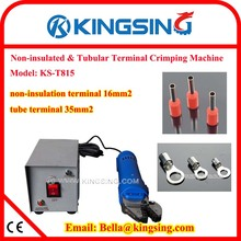 Factory Direct Sell Electric Wire Crimping Machines KS-T815 for insulated tube terminals+DHL FREE SHIP(China)