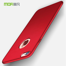 For iPhone 8 Case for iPhone 8 Plus Cover Original Mofi Hard PC Phone Case for iPhone8 Back Cover Red Shockproof 4.7 5.5