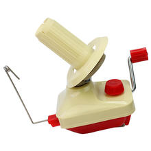 Portable Hand-Operated Swift Yarn Fiber String Ball Wool Winder Holder Knitting Roll Coil Machine Family Household Use