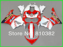 HOT SALE!!Motorcycle Fairing kit for HONDA CBR900RR 96 97 CBR900 893 CBR900RR 1996 1997 XEROX red white ABS Fairings set HE29