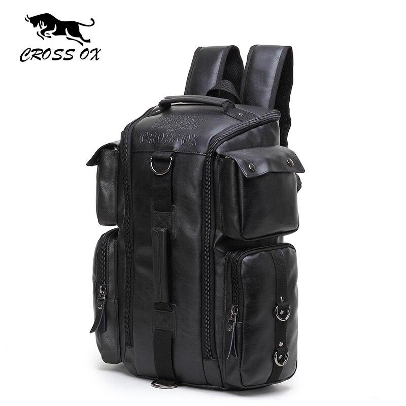 CROSS OX 2017 New Arrival Backpacks For Men Multi-function Travel bag Large Capacity Luggage Bag Shoulder Bag BK034M<br>