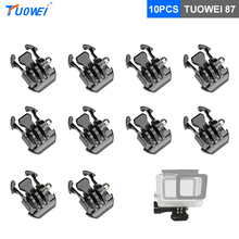 Buy TUOWEI GoPro Hero 5 Quick Release Buckle Mount GoPro Hero 6 5 4 3 Xiaomi Yi 4K SJCAM SJ4000 Sport Camera Accessories for $1.98 in AliExpress store