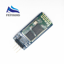 1PCS SAMIORE ROBOT HC-06 Bluetooth serial pass-through module wireless serial communication from machine Wireless Module(China)