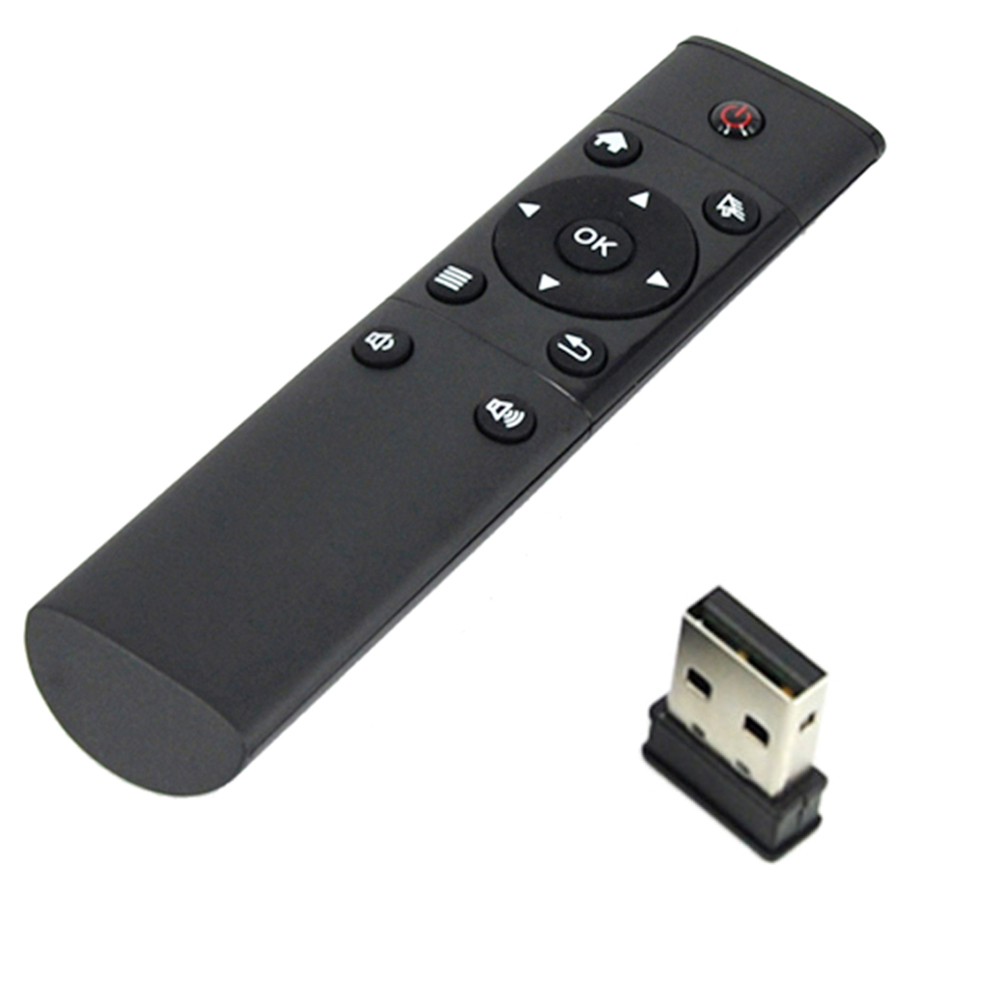 2.4G Mini Wireless Control Infrared Remote Control USB Wireless Receiver for Smart TV Box HTPC Mini PC for IPTV Set-top Box PCTV(China)