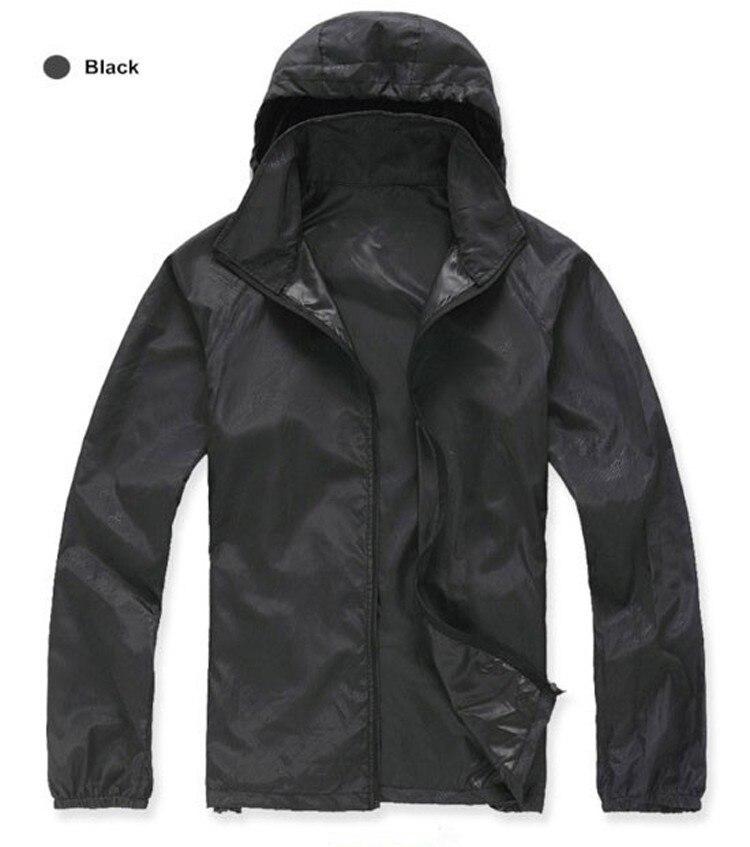 DIMUSI  Men's Brand Quick Dry Skin Coat Sunscreen Waterproof UV Women thin Army Outwear Ultra-Light Windbreake Jacket 3XLYA105