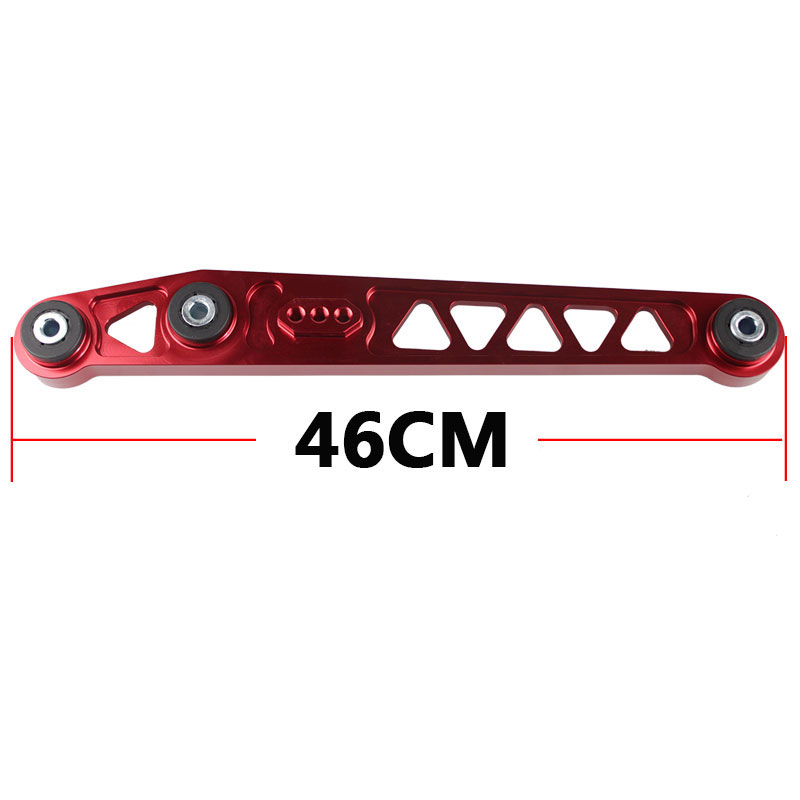 96-00 Honda Civic Ek Jdm 2Pc Aluminum Racing Lca Rear Lower Control Arm Silver