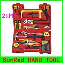 BESTIR TAIWAN original 21PCS Hardware Kit Household Tool Set Multi-functional home tools set kit,NO.92104 discount shipping