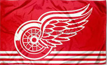 Detroit Red Wings Column Flag 150x90cm For 3x5ft Banner 100d Polyester Custome009, Free Shipping