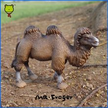 Mr.Froger Camel model toy wild animals toys set Zoo modeling Solid plastic PVC Dolls Children Science and Education brown gift