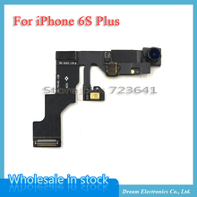 MXHOBIC 10pcs/lot Light Proximity Sensor Flex Cable Small Front Facing Camera Len Microphone Assembly for iPhone 6S Plus 5.5''