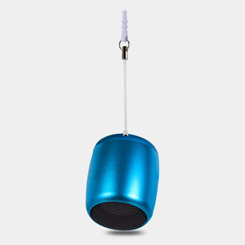 Aimitek Mini Wireless Speaker Small Pocket Size blue-3