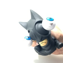 Free Shipping 1Piece Mad Dark Knight Superhero Batman Bulging Eyes Pop Out Eyes Funny Stress Balls Squeezable Toy For Kids Adult