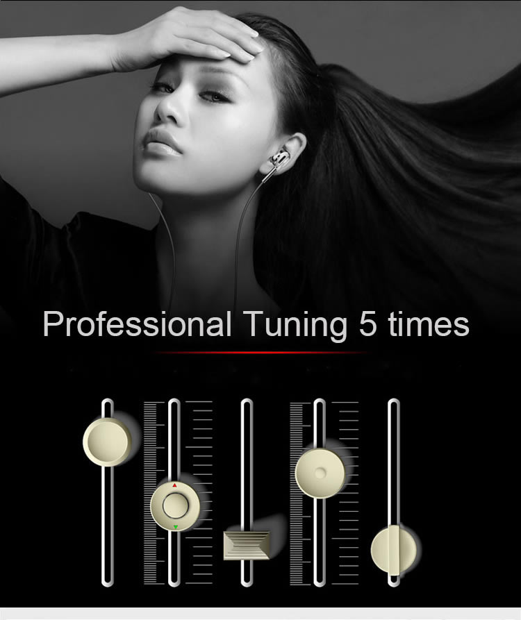 EASYA Super Bass Earphone Metal Headphones HiFi Stereo Sound Music Earbud Headset With Microphone Subwoofer Earphones For Phone