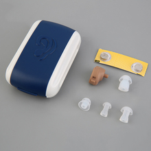 New Hearing Aid Portable Small Mini Personal Sound Amplifier In the Ear Tone Volume Adjustable Hearing Aids Care