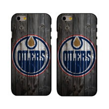 Popular NHL Edmonton Oilers Logo hard cover case for iPhone 4 4s 5s se 5c 6 6s Plus 7 7plus