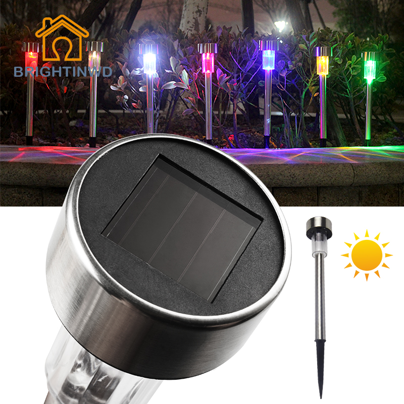 BRIGHTINWD Garden Led Solar Light Outdoor lighting 6v Lampara Lights IP44 Waterproof Lamp for garden decoration(China (Mainland))