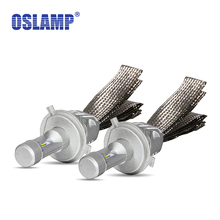 Oslamp 9005/9006/H13/H11/H7/H4 Car Headlight Bulbs Flexible Copper Belt LED Headlight Kits CSP Chips 6500K Led Fog Lamps HB3/HB4