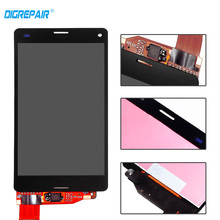 "4.5"" Black For Sony Xperia Z3 Mini Compact D5803 D5833 LCD Display Touch Screen Digitizer Assembly Free Shipping+Track No.(China)"