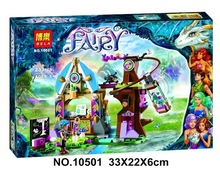 10501 Elvendale Dragon's School brick 41173 Building Blocks Friends Elves Buildable Educational toys Compatible with Lepin