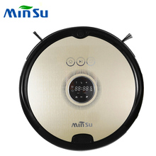 MinSu TR2015 Smart Robot Vacuum Cleaner Dry Wet Cleaning Machine Auto Recharge 4 Cleaning Modes remote control Vacuum Cleaner(China)