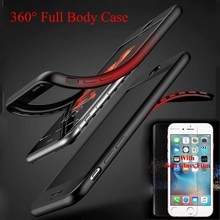 Buy Soft Screen Protector Glass Film Phone Case iPhone 7 7Plus 6 6sPlus 360 Full Body Silicon Case iPhone 8 8Plus Cover for $2.15 in AliExpress store