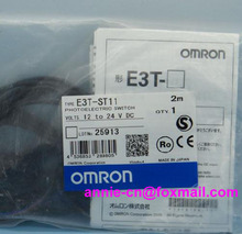 New and original  E3T-ST11,  E3T-ST12  OMRON  Photoelectric switch   2M  12-24VDC