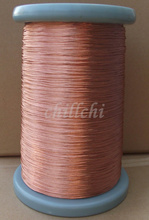 0.2X15 shares beam light strands twisted copper Litz wire Stranded round copper wire sold by the meter(China)