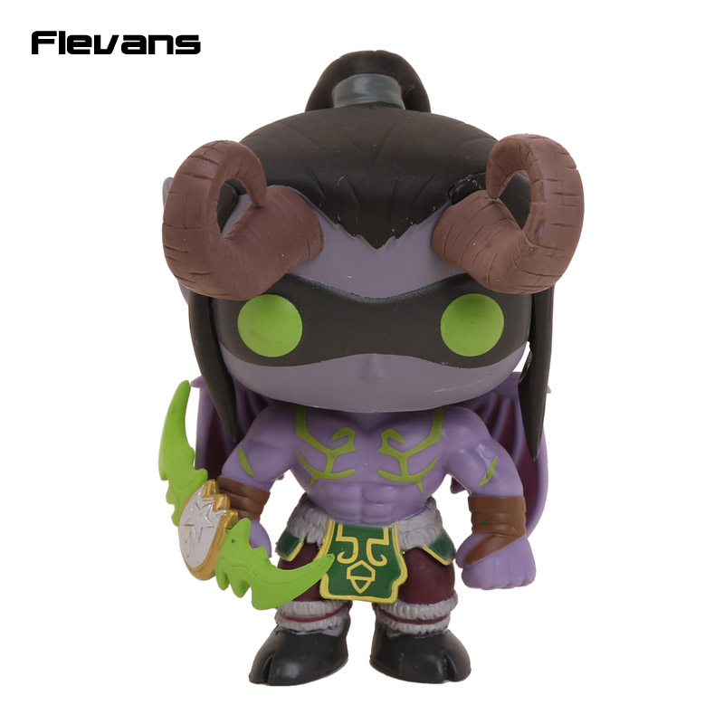 FUNKO POP Games WOW Illidan # 14 PVC Action Figure Collection Toy Doll 4 10CM<br><br>Aliexpress
