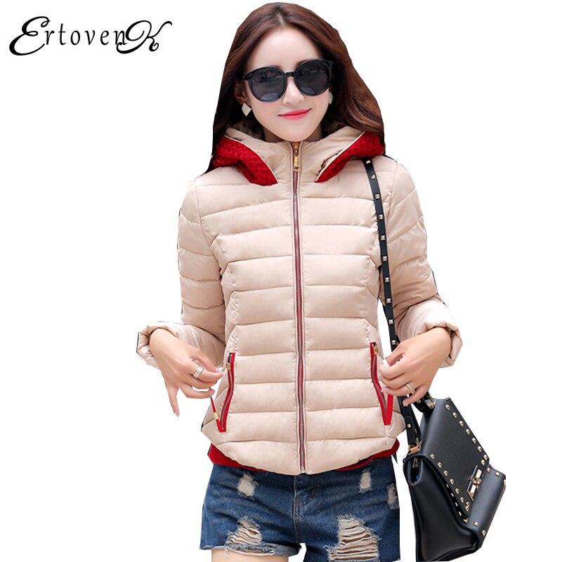 Winter Women New2017 Cotton Coat Thicker Warm Jacket Korean Hooded Clothing Large Size Top Fashion Outerwear abrigos mujerLH068Îäåæäà è àêñåññóàðû<br><br>