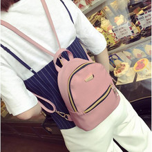 2017 Women Leather Backpack children backpack mini backpack women cute back pack backpacks for teenage girls small bag