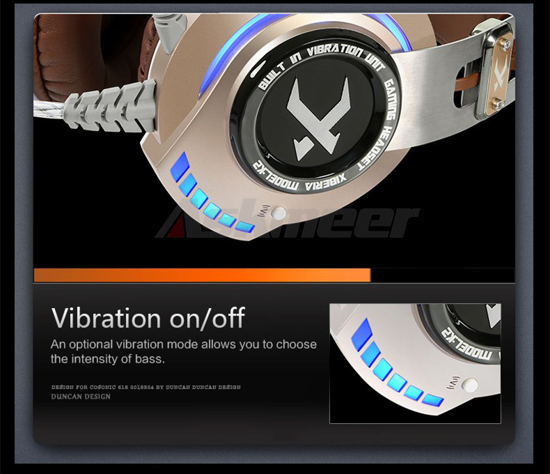 XIBERIA K2 Computer Gaming Headphones Stereo Surround Sound Glowing LED Light Game Headset Gamer with Microphone fone de ouvido (16)