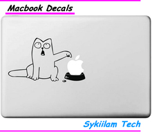Simon's Cat for Apple Sticker for Macbook Skin Air 11 13 Pro 13 15 17 Retina Laptop Computer Car Wall Vinyl Logo Decal